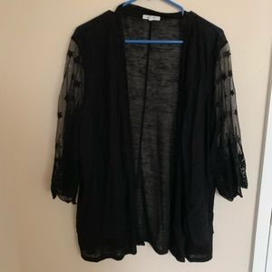 !!!NEW!!! BNWOT maurices Cardi with Lace Sleeves